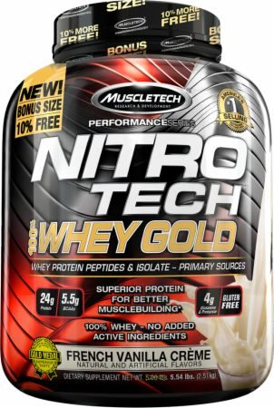 Muscletech Nitro Tech 100% Whey Protein Review