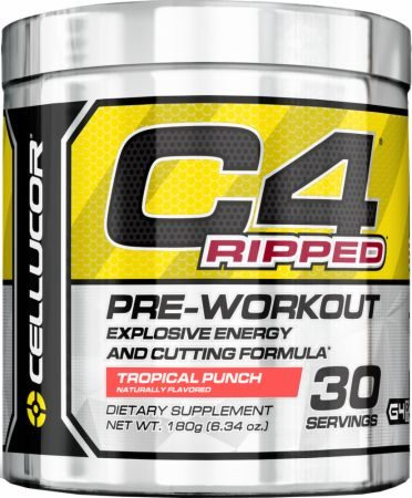 Cellucor C4 Ripped Pre Workout & Thermogenic Review