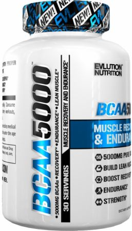 EVLUTION NUTRITION BCAA 5000 Tablets Review