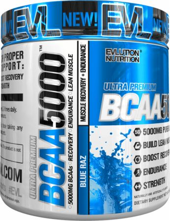 EVLUTION NUTRITION BCAA 5000 Review