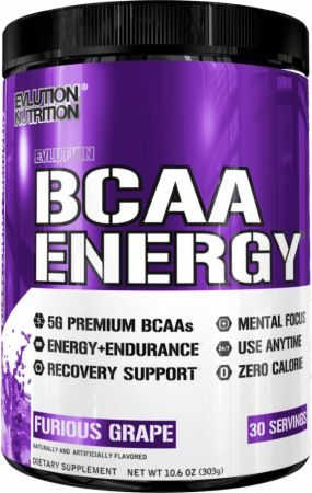 EVLUTION NUTRITION BCAA Energy Powder Review