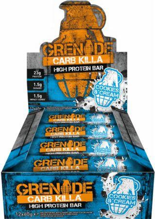 Grenade Carb Killa Protein Bar Review