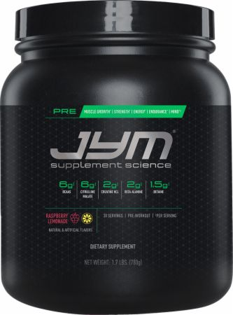 JYM Supplement Science Pre Jym Pre Workout Review