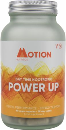 Motion Nutrition Power Up - Daytime Nootropic Review