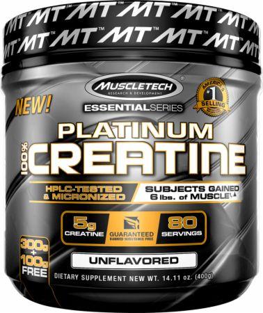 MuscleTech Platinum 100% Creatine Review