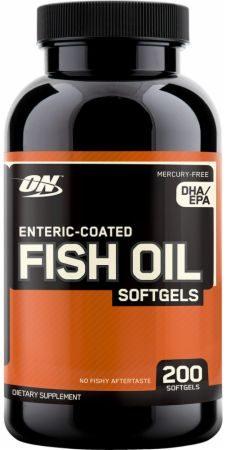 Optimum Nutrition Fish Oil Soft gels Review