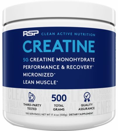 RSP Nutrition Creatine Monohydrate Review