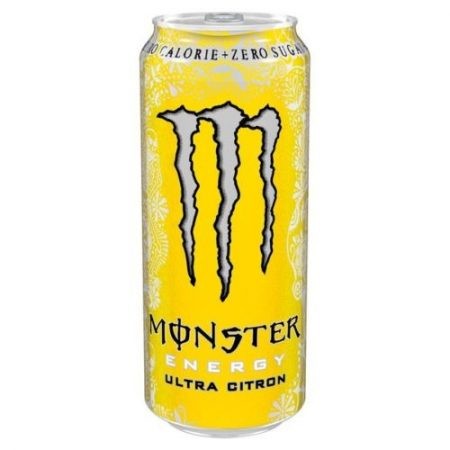 Ultra Yellow Monster Sugar Free Review