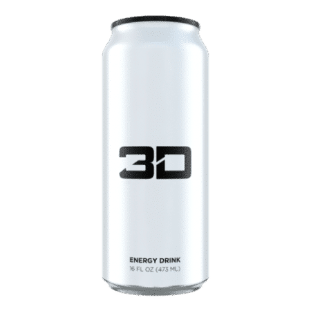 White 3D Energy Drink Review
